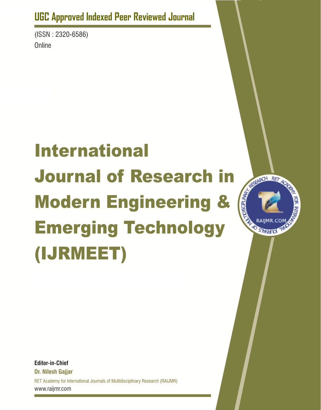 International Journal of Research in Modern Engineering